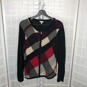 Talbots Women's Knit Cardigan Size XLarge